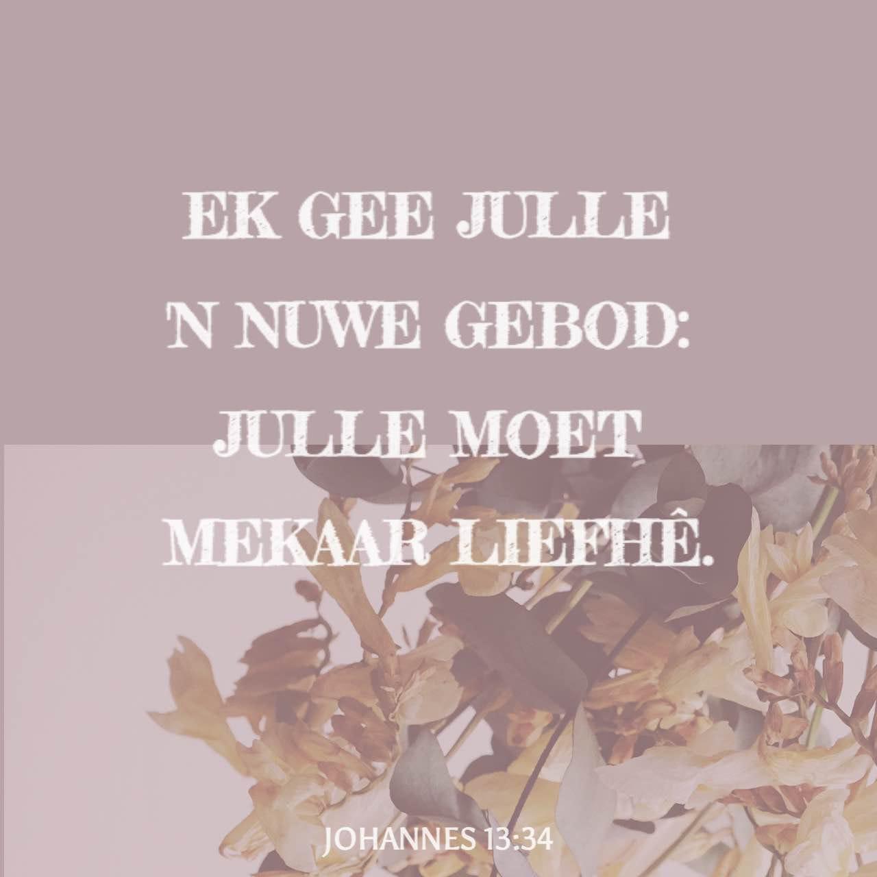 Johannes 13 34