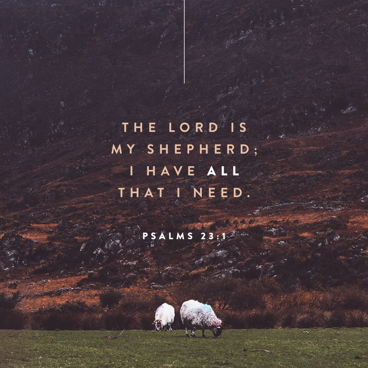 Psalms 23 1 The Lord Is My Shepherd I Have All That I Need New Living Translation Nlt Download The Bible App Now