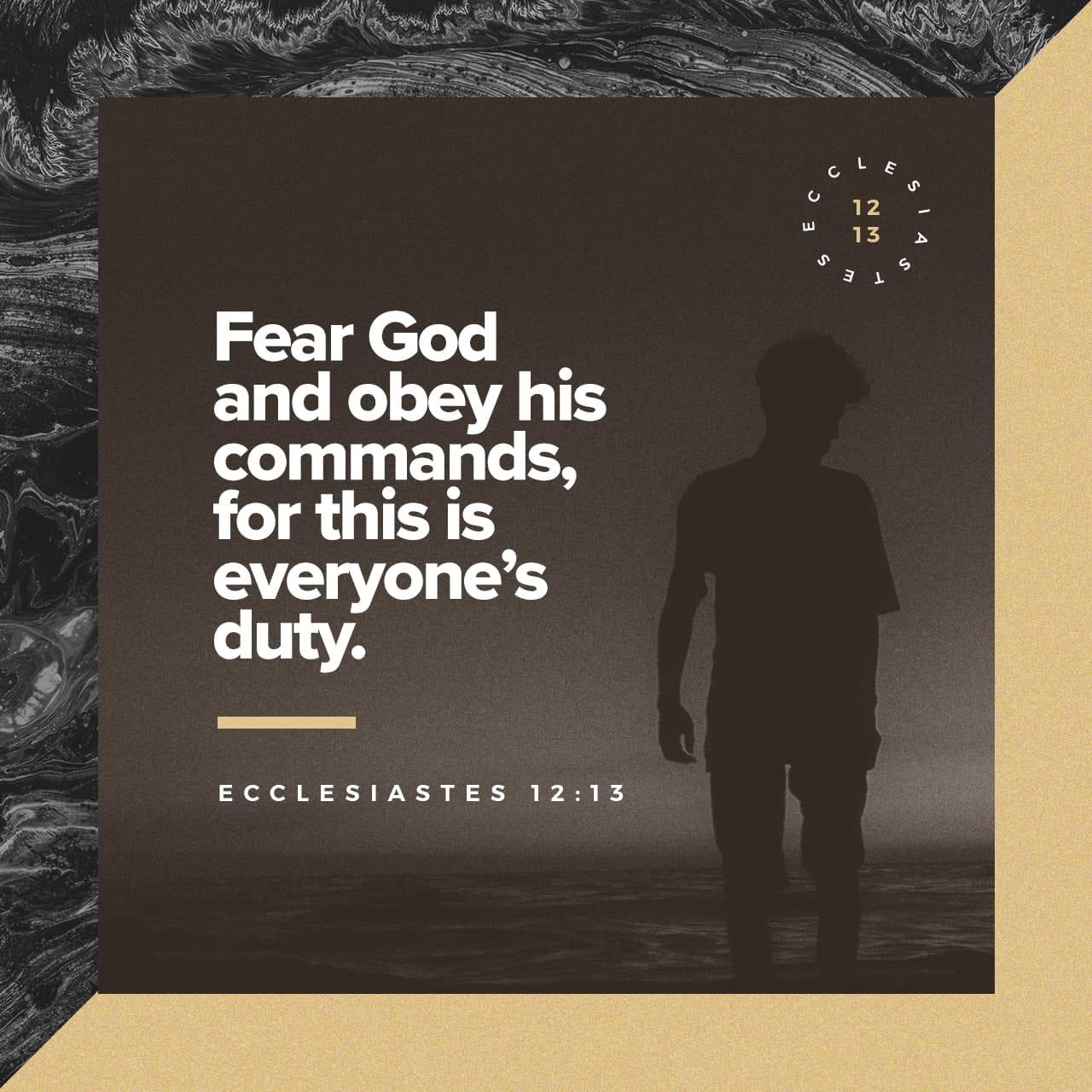 Bible Verse of the Day - day 231 - image 42335 (Ecclesiastes 12:13)