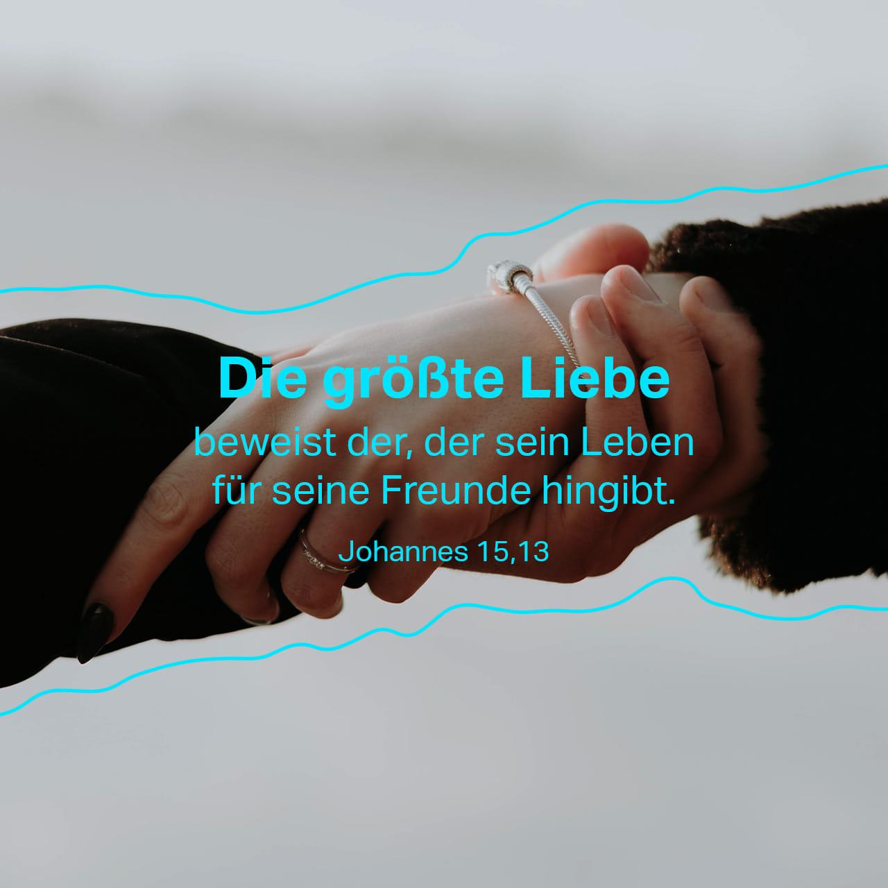 Johannes 15 13