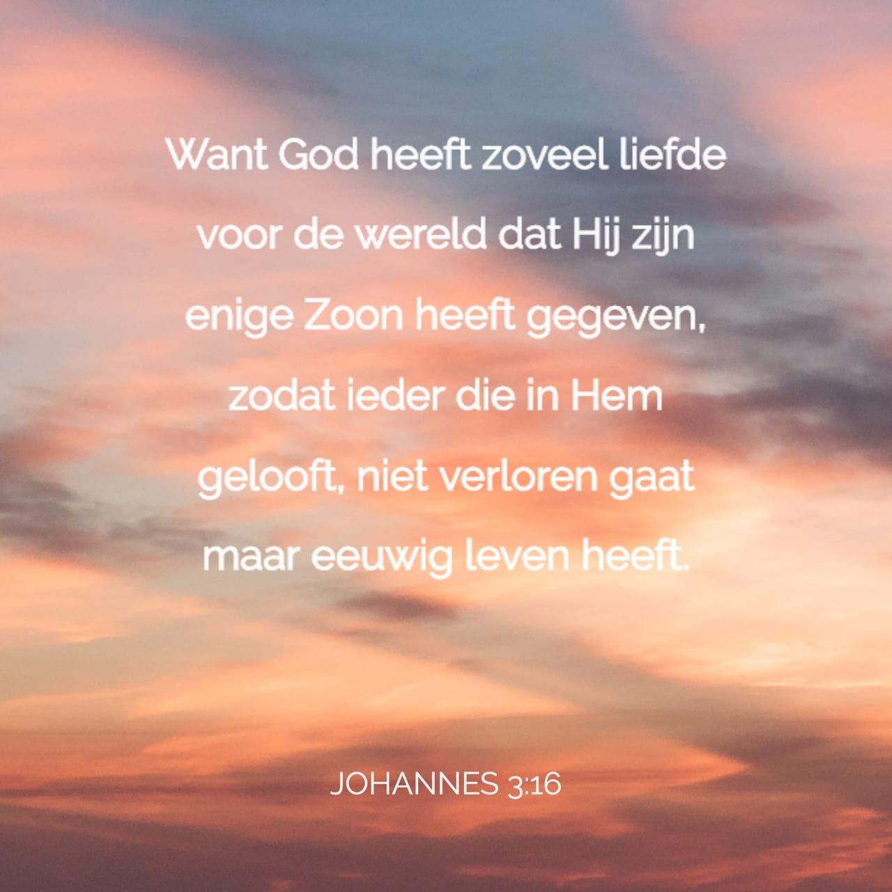 Bibel Johannes 3 16