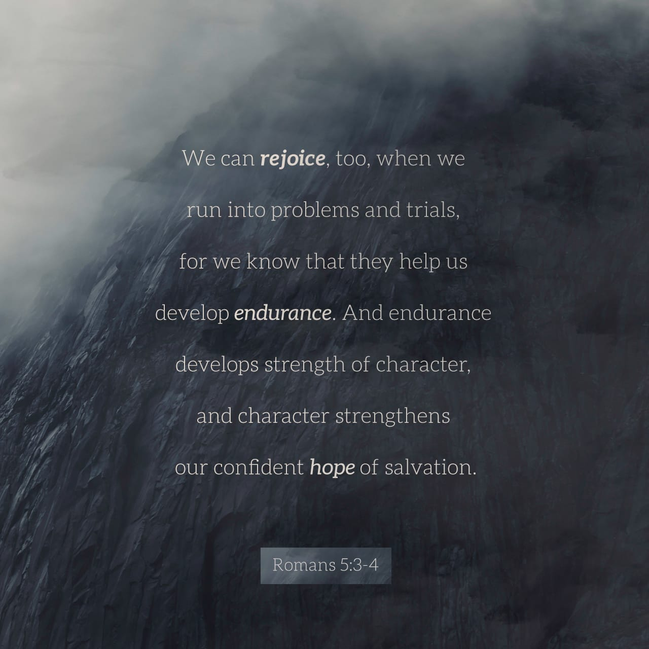 Bible Verse of the Day - day 173 - image 5759 (Romans 5:4)