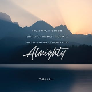 Psalm 91:1 He who dwells in the shelter of the Most High will abide in the  shadow of the Almighty. | English Standard Version 2016 (ESV) | Download  The Bible App Now