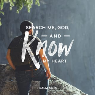 Psalms 139:23 God, I invite your searching gaze into my heart ...