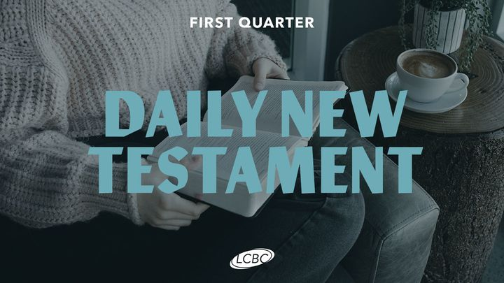 Daily New Testament - Quarter 1