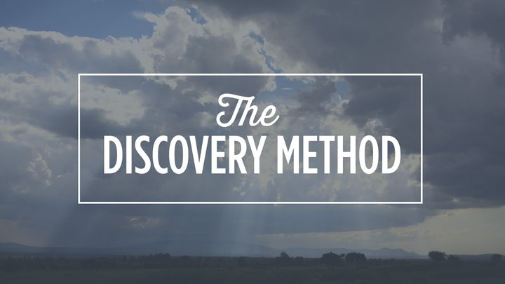 Discovery: God's Story from Creation to Christ