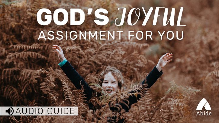 God's Joyful Assignment For You