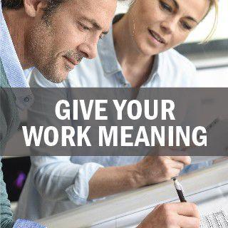 赋予工作以意义