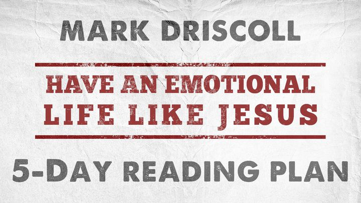 Have An Emotional Life Like Jesus