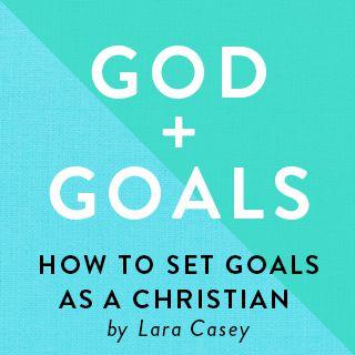 上帝 + 目標:基督徒應該如何設立目標