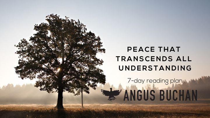 Peace That Transcends All Understanding