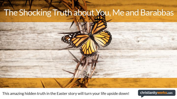 The Shocking Truth About You, Me And Barabbas: A Daily Devotional