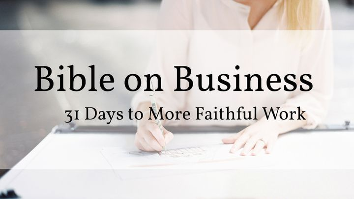 Bible on Business