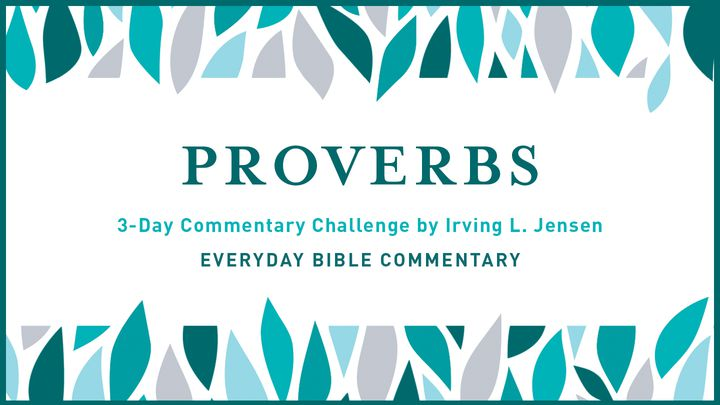 3-Day Commentary Challenge - Proverbs 1-2