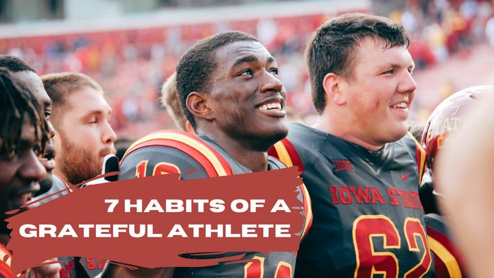 7 Habits of a Grateful Athlete
