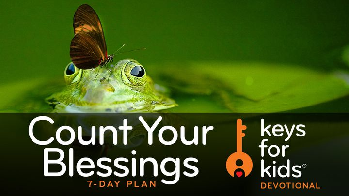 Keys For Kids Devotional: Count Your Blessings