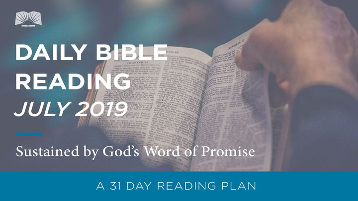 Daily Bible Reading — Sustained by God's Word of Promise