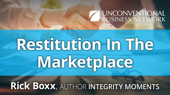 Restitution In The Marketplace
