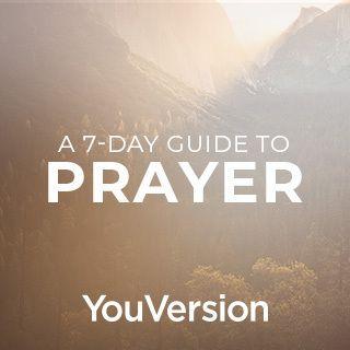 Um Guia de 7 dias Sobre a Oração