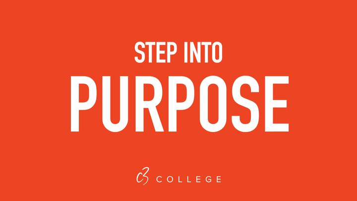 STEP INTO PURPOSE