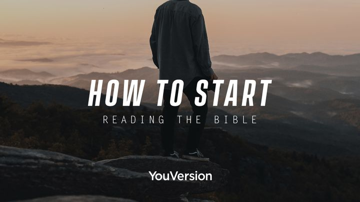 How to Start Reading the Bible