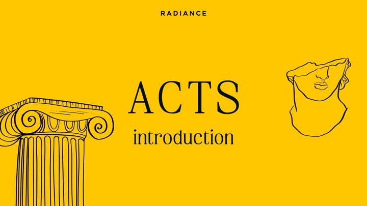 ACTS ~ Introduction