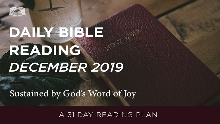 Daily Bible Reading — Sustained by God's Word of Joy