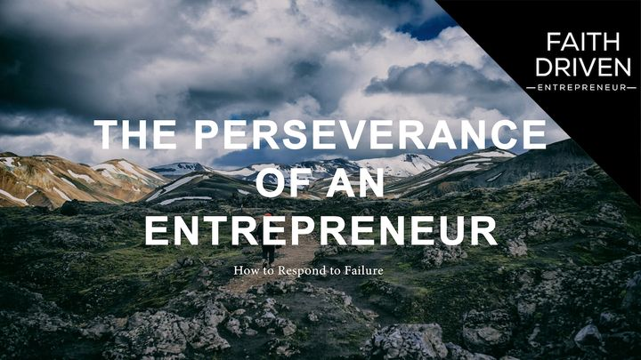 The Perseverance of an Entrepreneur