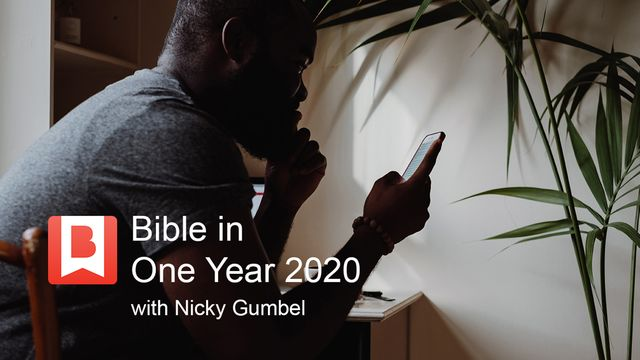Bible in One Year 2020 With Nicky Gumbel