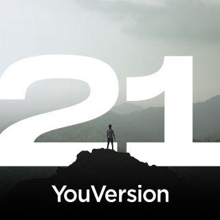 連續 21 天投入上帝的話語
