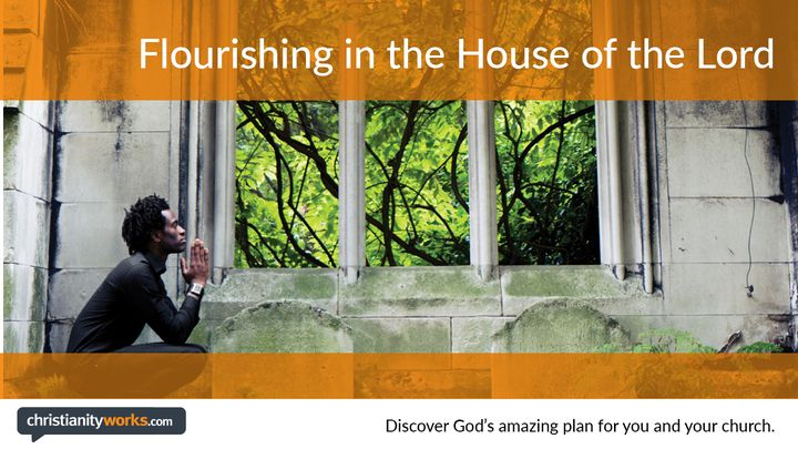 Flourishing in the House of the Lord - A Daily Devotional
