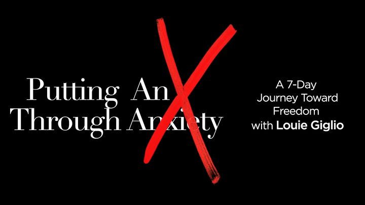 Putting an 'X' Through Anxiety