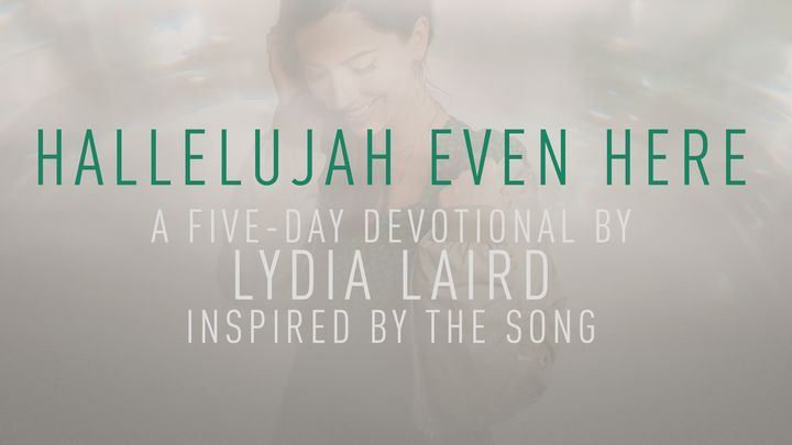 Hallelujah Even Here: A 5 Day Devotional By Lydia Laird