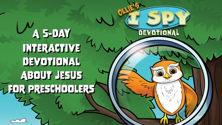 I Spy Jesus: An Interactive Devotional for Preschoolers