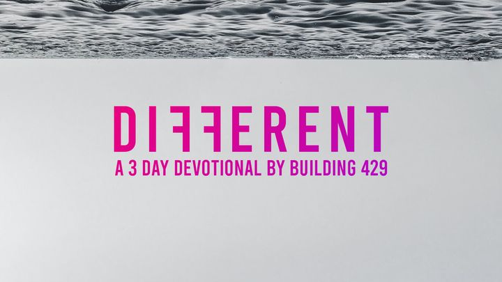Different: A 3-Day Devotional by Building 429's Jason Roy