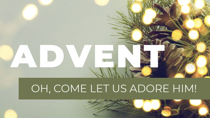 Advent - Oh, Come Let Us Adore Him!