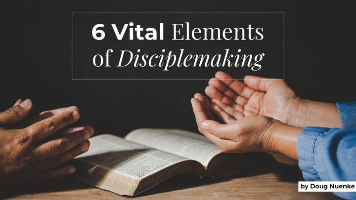 6 Vital Elements of Disciplemaking