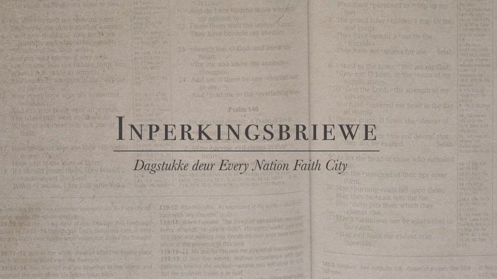 Every Nation Faith City - Inperkingsbriewe