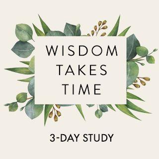 Wisdom Takes Time