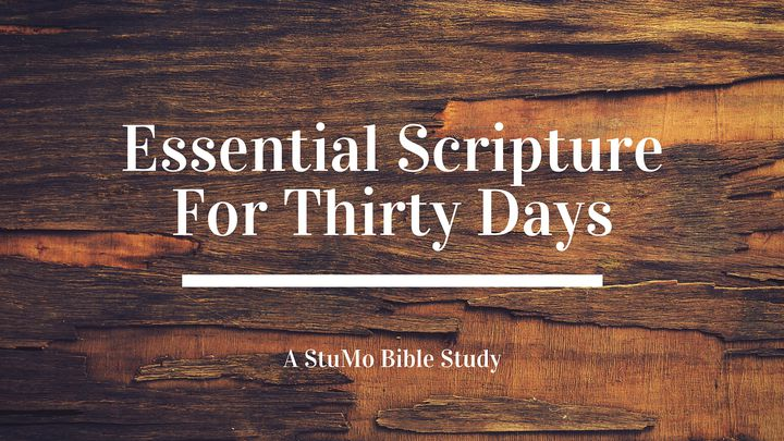Essential Scripture For 30 Days