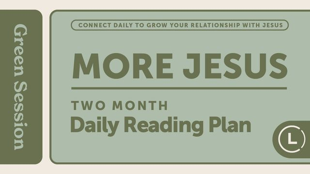 More Jesus Reading Plan (Season 3)