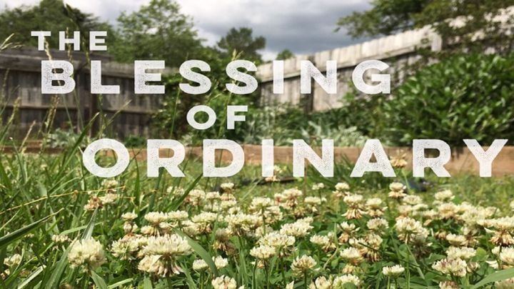 The Blessing of Ordinary