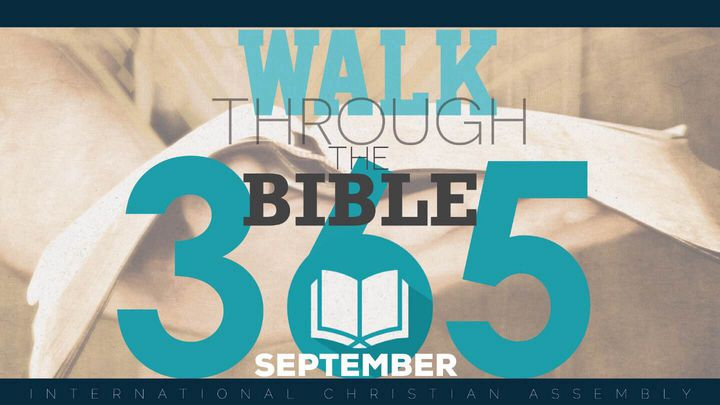 Walk Through The Bible 365 - September