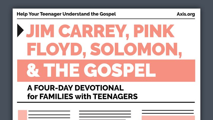 Jim Carrey, Pink Floyd, Solomon, & The Gospel