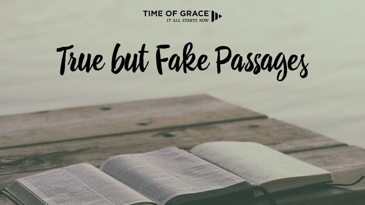 True But Fake Passages: Devotions From Time Of Grace