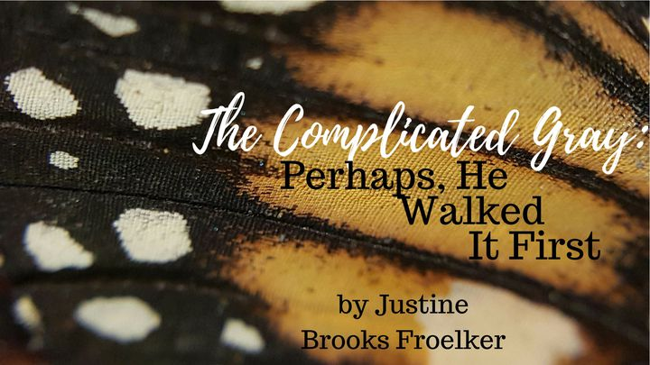 The Complicated Gray: Perhaps, He Walked It First