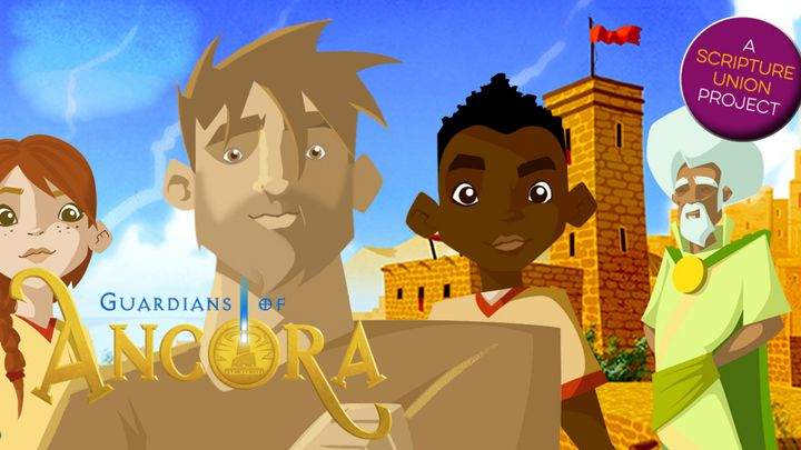 Guardians Of Ancora Bible Plan: Ancora Kids Walk The Way To The Cross