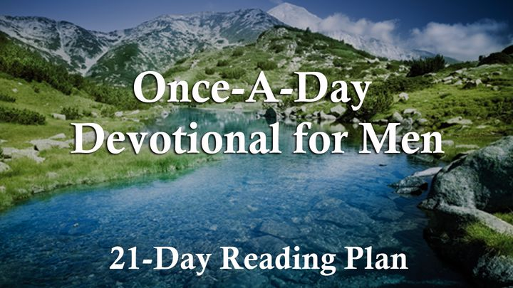 NIV Once-A-Day Bible for Men