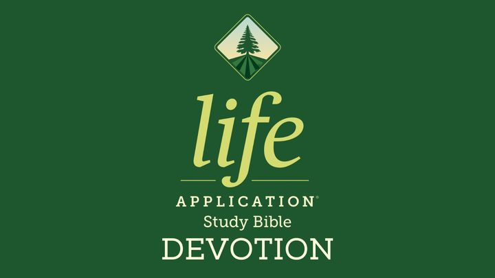 Life Application Study Bible Devotion