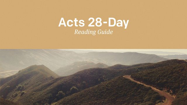 Acts Reading Guide